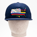 """ U. S. A "" Corduroy Cap"